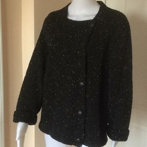 Sweaters - Ireland Foxglove knit cardigan